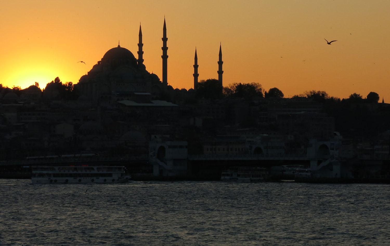 Turkey-Bosphorus-Sunset