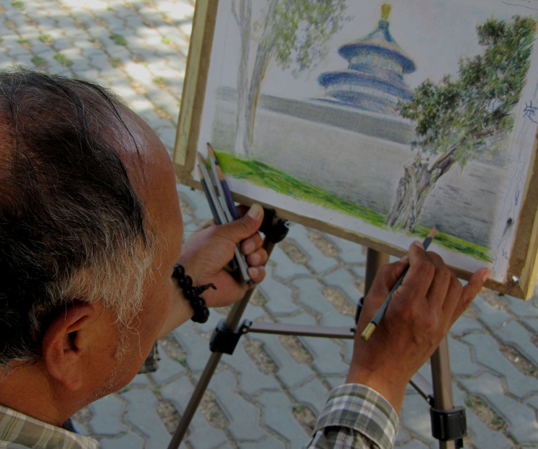 China-Beijing-Temple-Of-Heaven-Artist