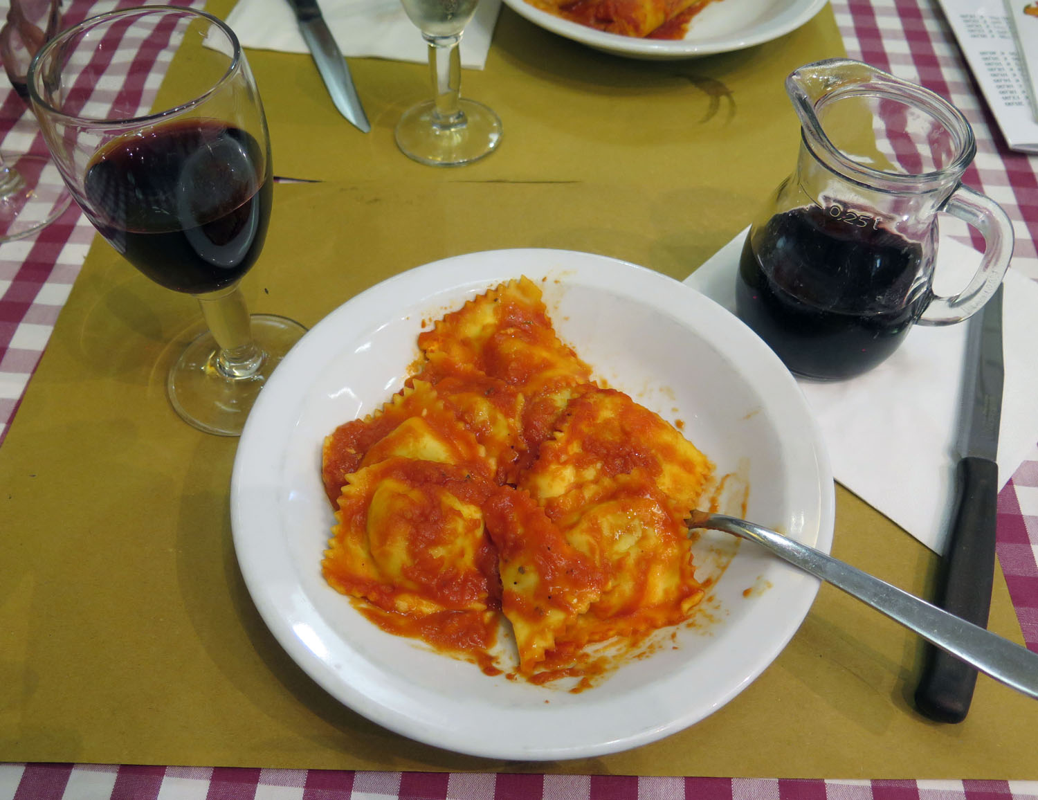 Italy-Rome-Food-And-Drink-Ravioli