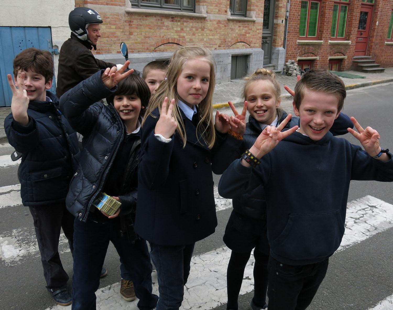 Belgium-Bruges-Kids