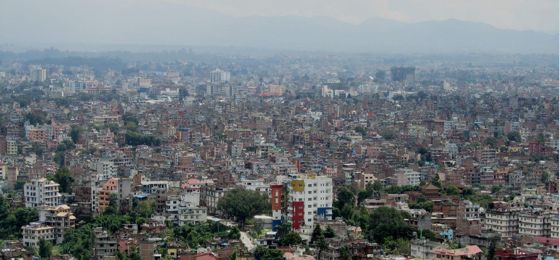 Nepal-Kathmandu-Skyline