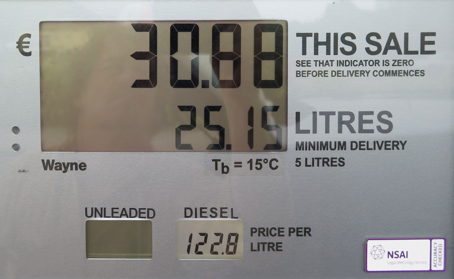 Ireland-Driving-Fuel-Price