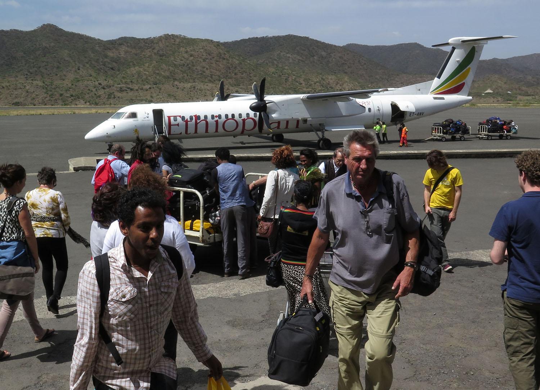 Ethiopia-Lalibela-Airport-Arrival