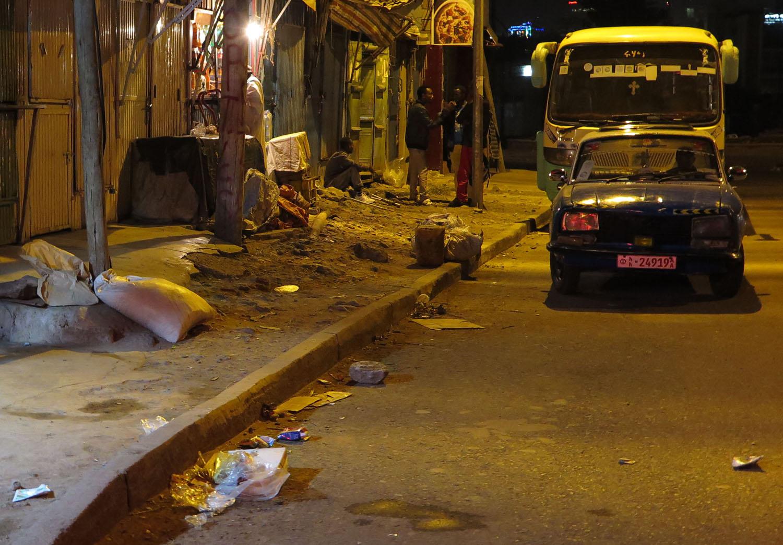 Ethiopia-Addis-Ababa-Street-Scenes-Night