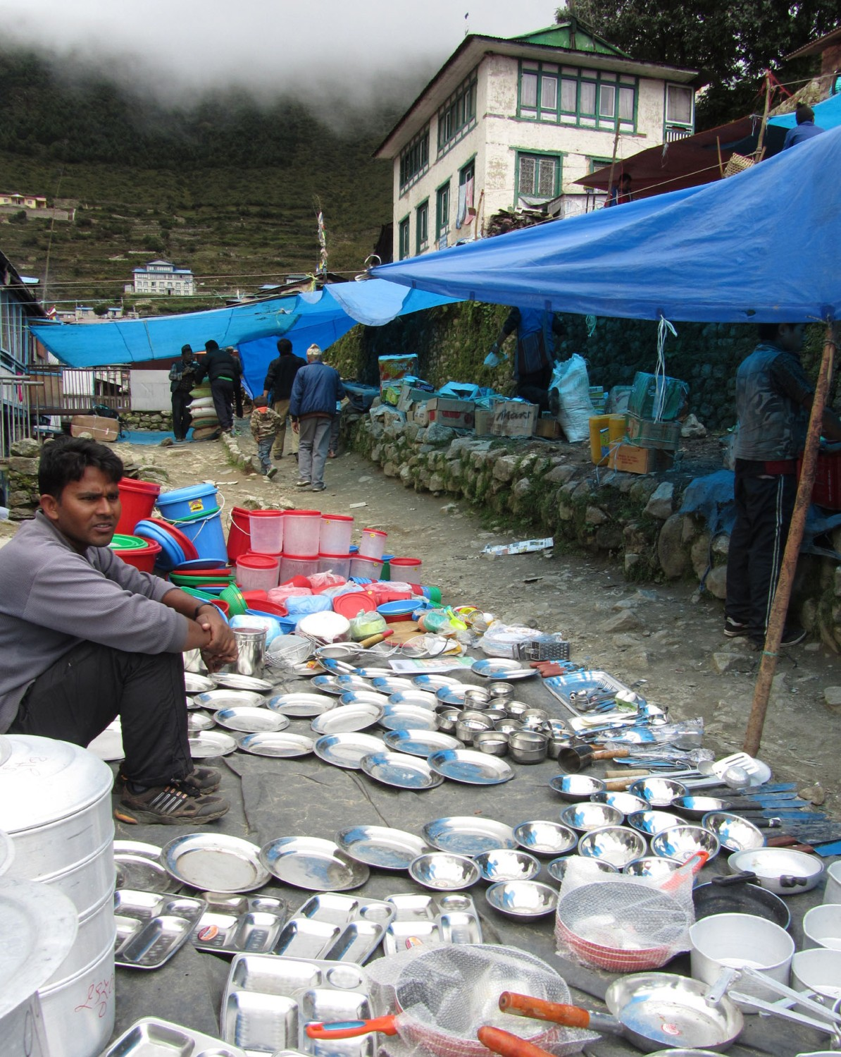 Nepal-Everest-Region-Trek-Day-02-Namche-Bazaar