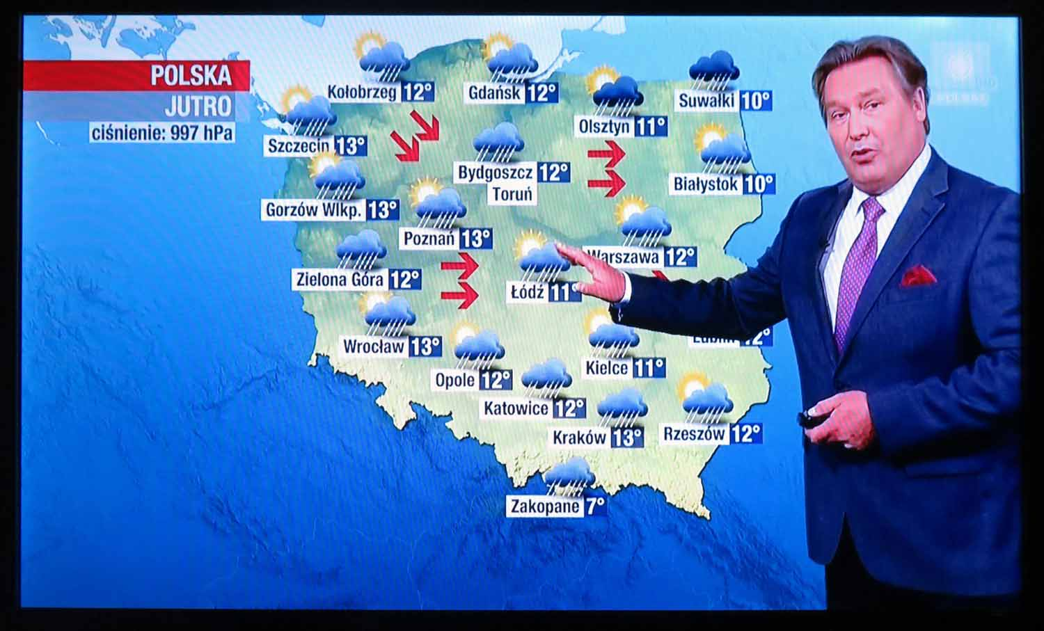 Poland-Warsaw-Television-Weather