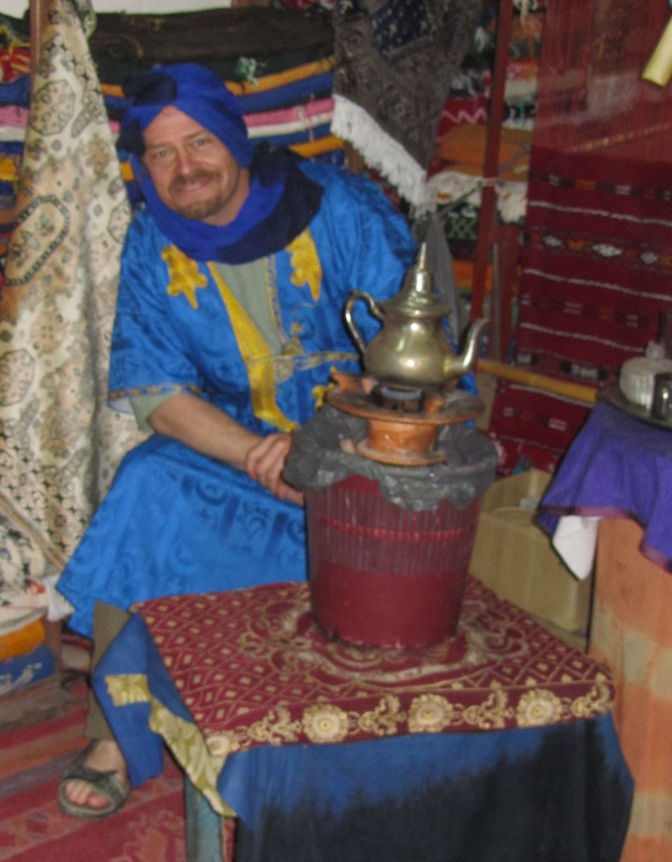 Morocco-Tangier-Tea