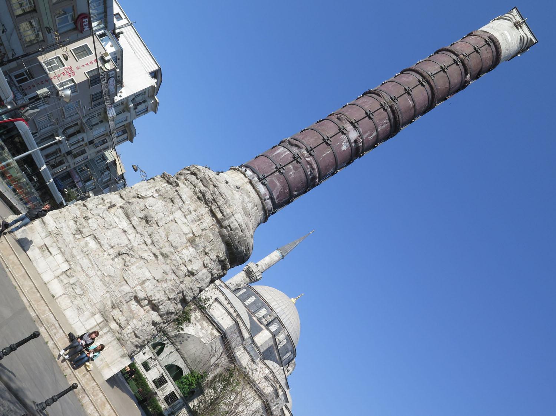 Turkey-Istanbul-Column-Of-Constantine