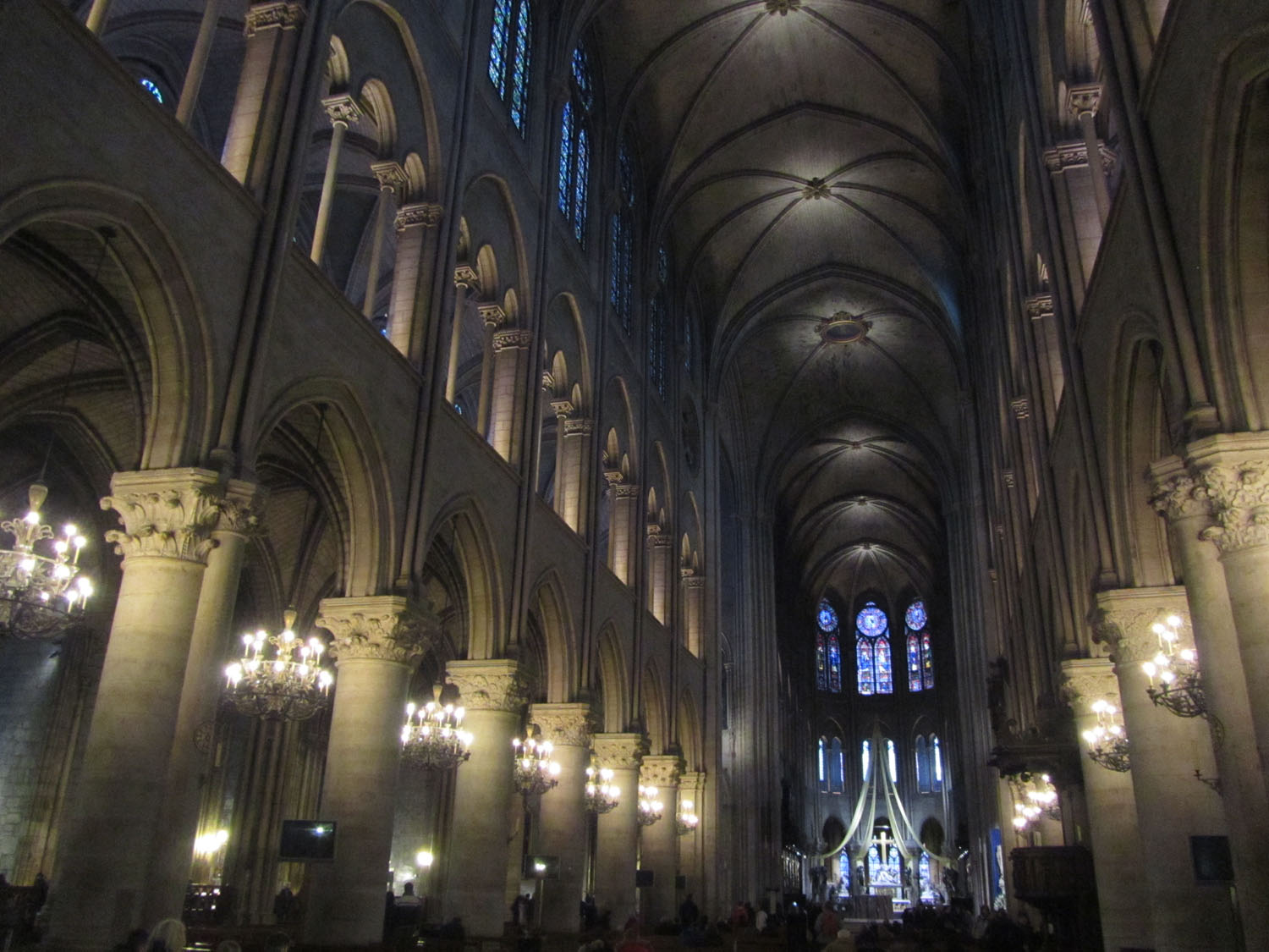 France-Paris-Notre-Dame-Interior