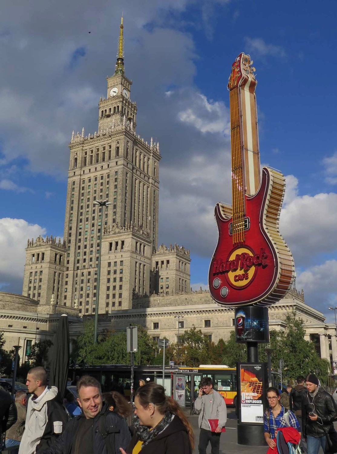 Poland-Warsaw-Palace-Of-Culture-Hard-Rock