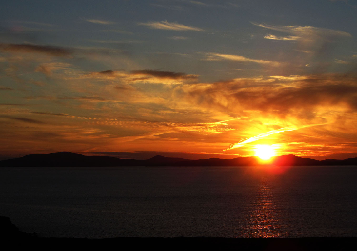 Ireland-Sights-And-Scenery-Kerry-Sunset-Dingle-Bay