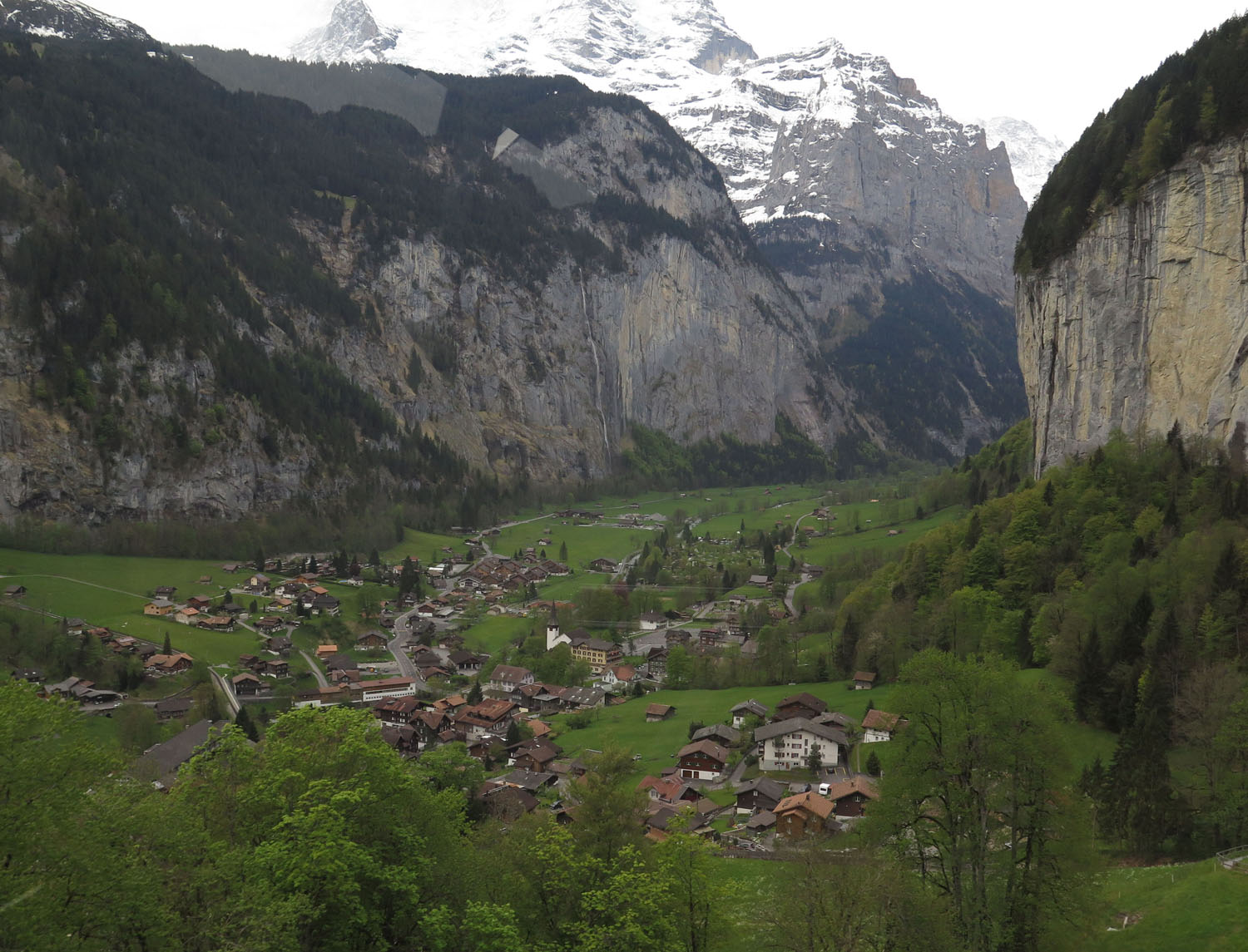 Switzerland-Bernese-Oberland-Lauterbrunnen-Valley