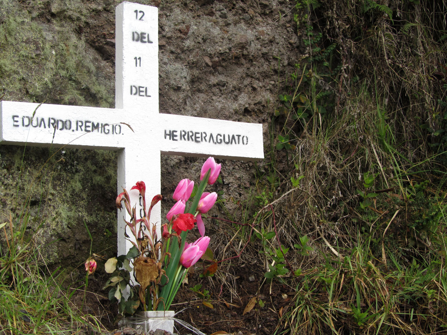 Ecuador-Countryside-Pululahua-Memorial
