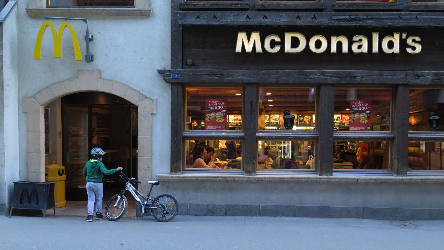 Switzerland-Zermatt-McDonalds