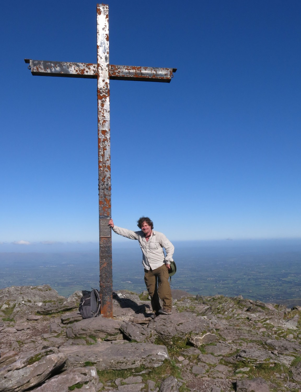 Ireland-Carrauntoohil-Summit-Self-Portrait