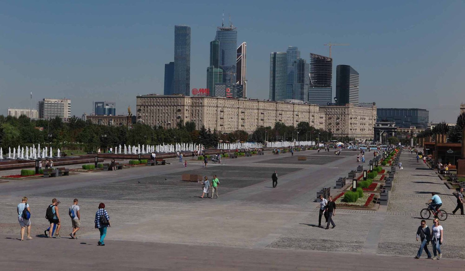 Russia-Moscow-Victory-Park-Promenade