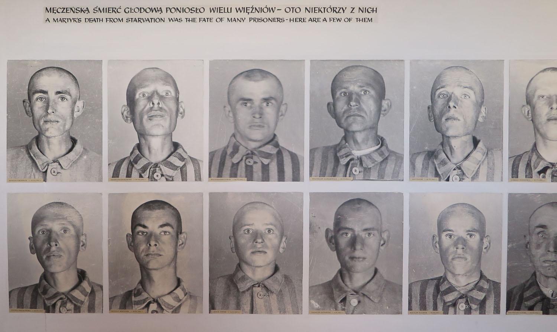 Poland-Auschwitz-Starvation