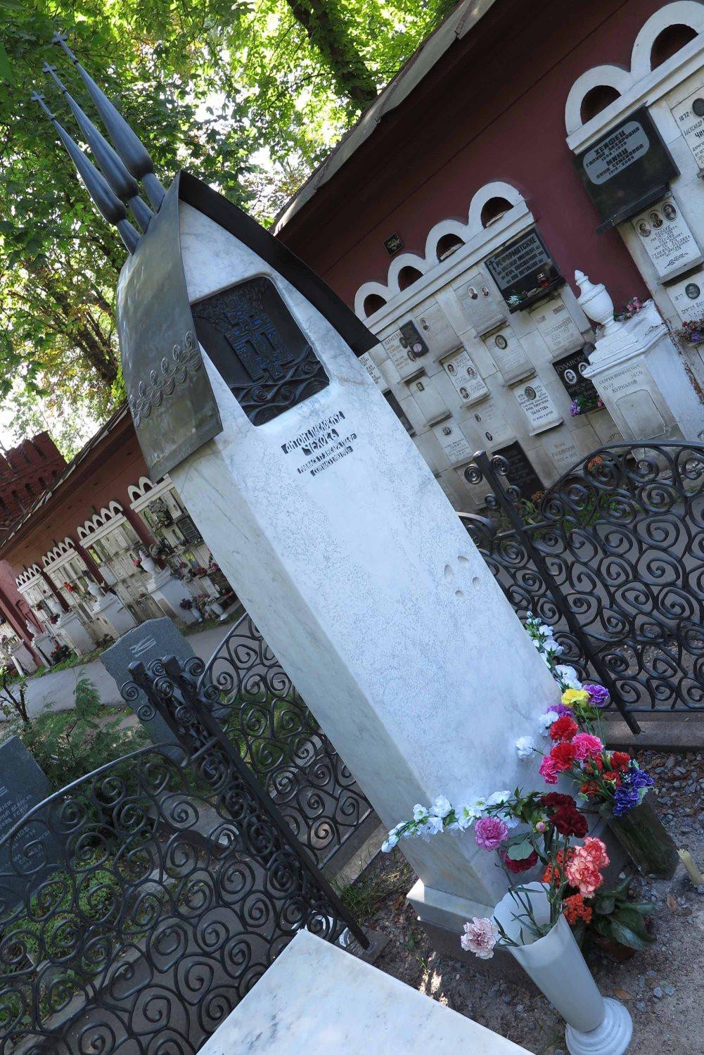 Russia-Moscow-Novodevichy-Cemetery-Chekov