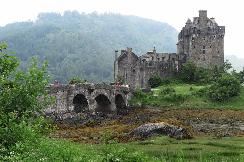 Scotland-Highlands-Eilean-Donan-Castle