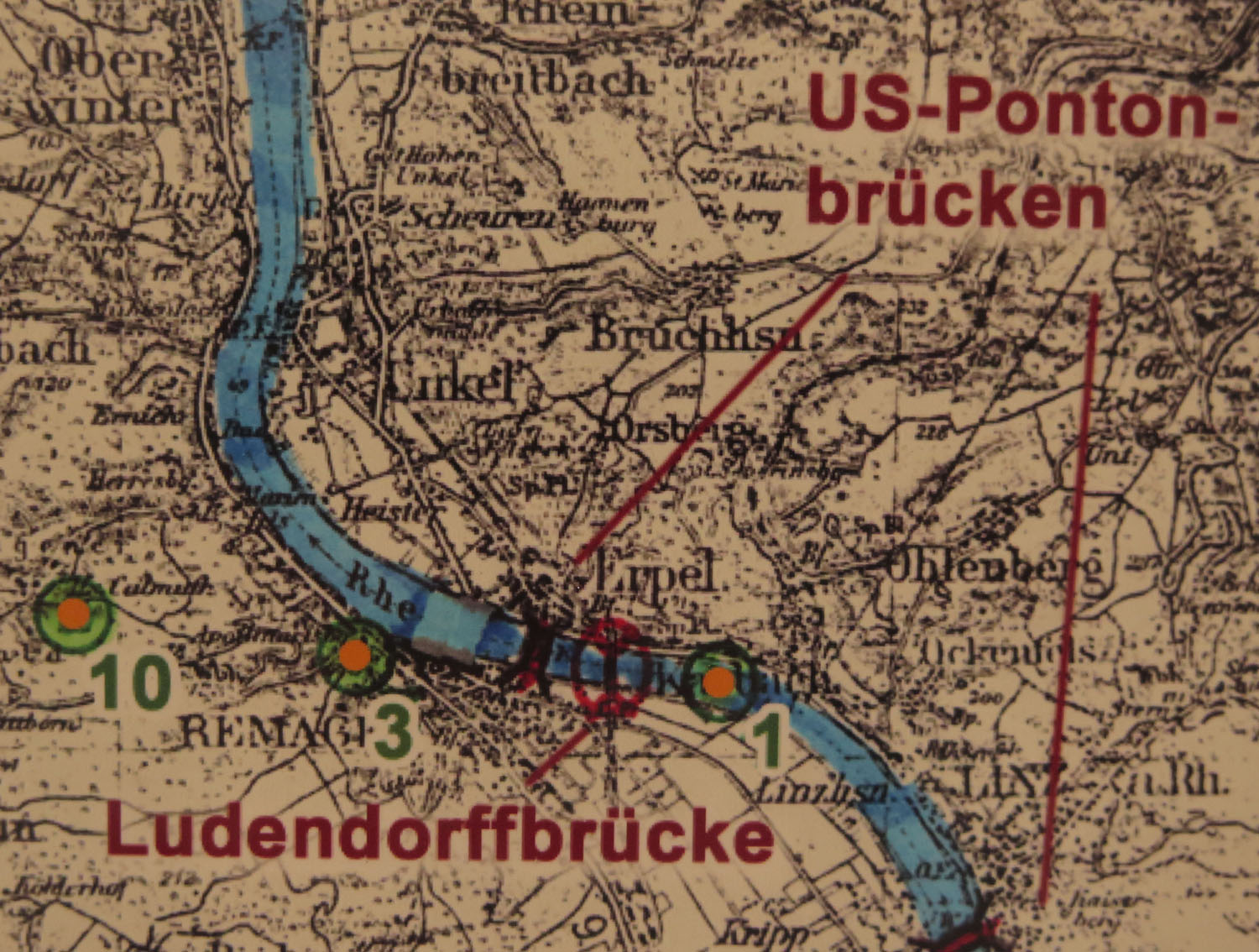 Germany-Bridge-At-Remagen-Peace-Museum-German-Map