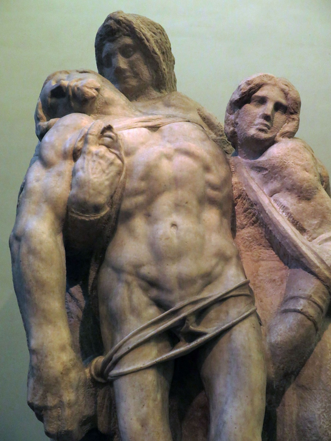 Italy-Florence-Accademia-Michelangelo-Unfinished