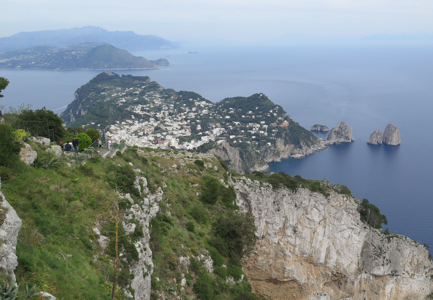 Italy-Capri-View-From-Summit