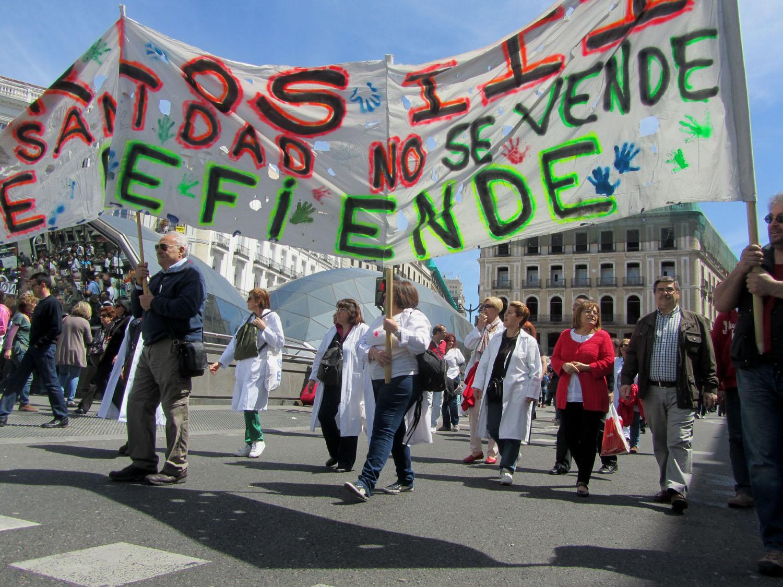 Spain-Madrid-Protest