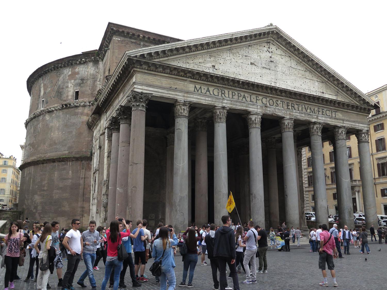 Italy-Rome-Pantheon
