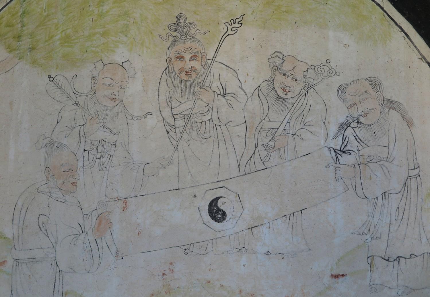 Mongolia-Karakorum-Buddhist-Monastery-Mural