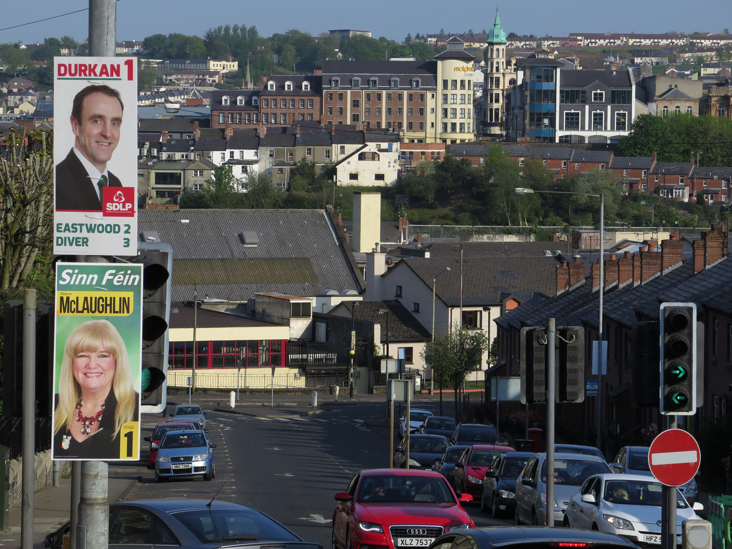 Northern-Ireland-Derry-Londonderry-Street-Political-Campaign-Ads