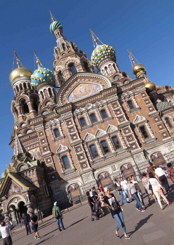 Russia-Saint-Petersburg-Church-Of-Spilt-Blood-Exterior