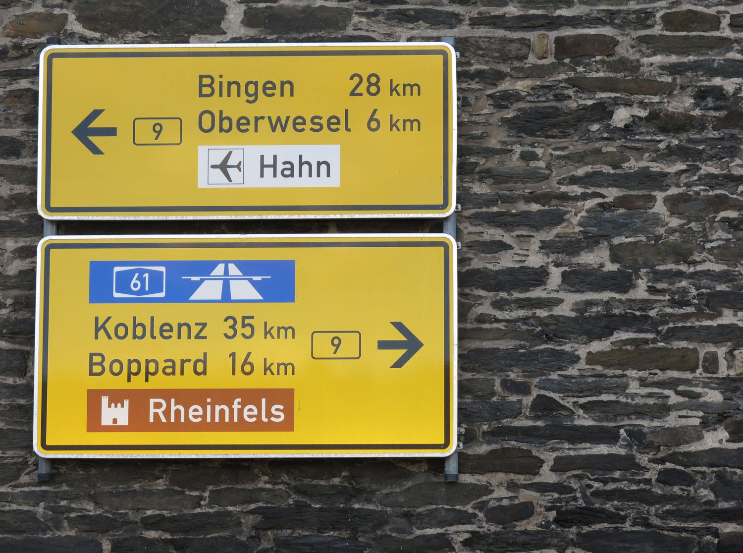 Germany-Rhine-River-Valley-Road-Sign