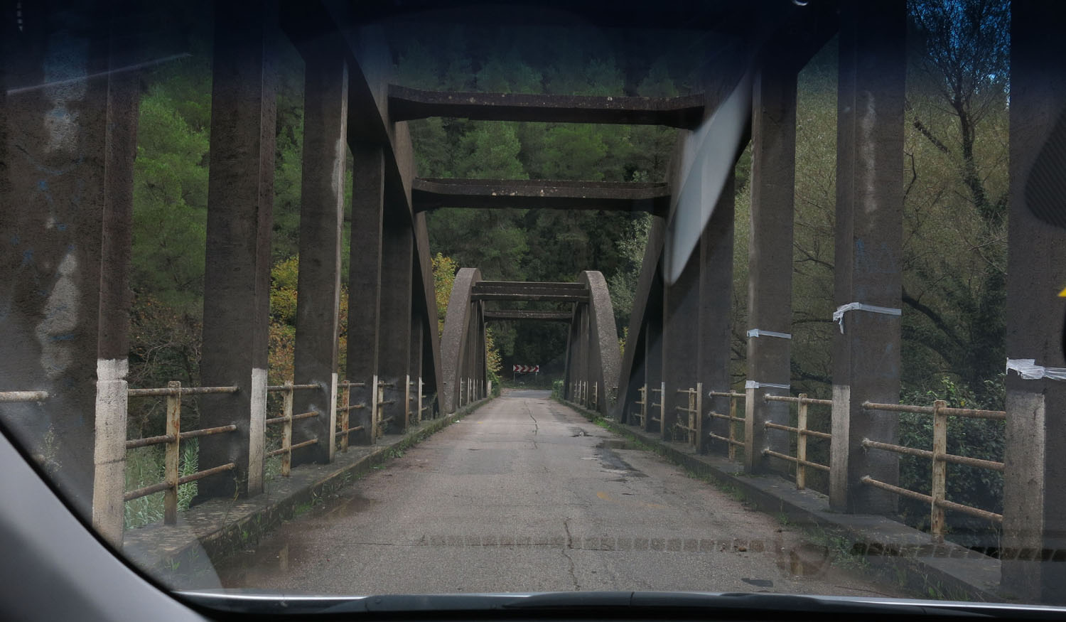 Greece-On-The-Road-Bridge