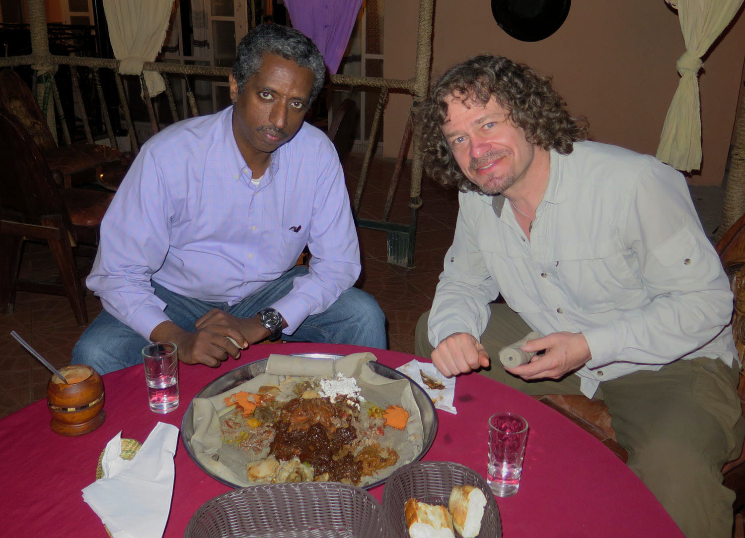 Ethiopia-Harar-Food-And-Drink-Supper