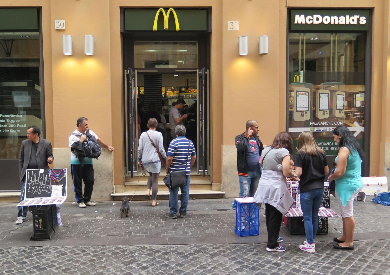 Italy-Rome-Street-Scenes-McDonalds