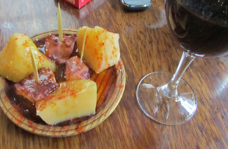 Camino-De-Santiago-Food-And-Drink-Pulpo