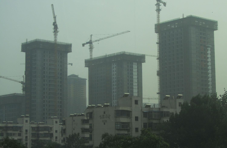 China-Xian-Construction
