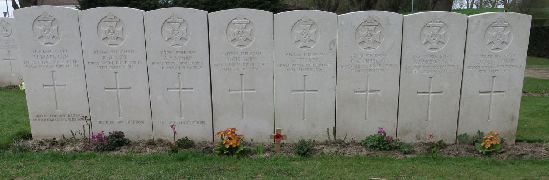 Belgium-Ypres-Essex-Farm-Cemetery-Mates