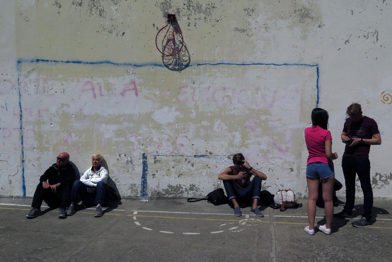 Italy-Cinque-Terre-Street-Scenes-Wall