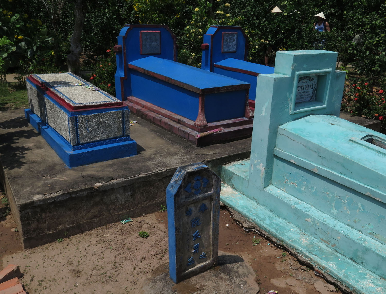 Vietnam-Mekong-Delta-Graves