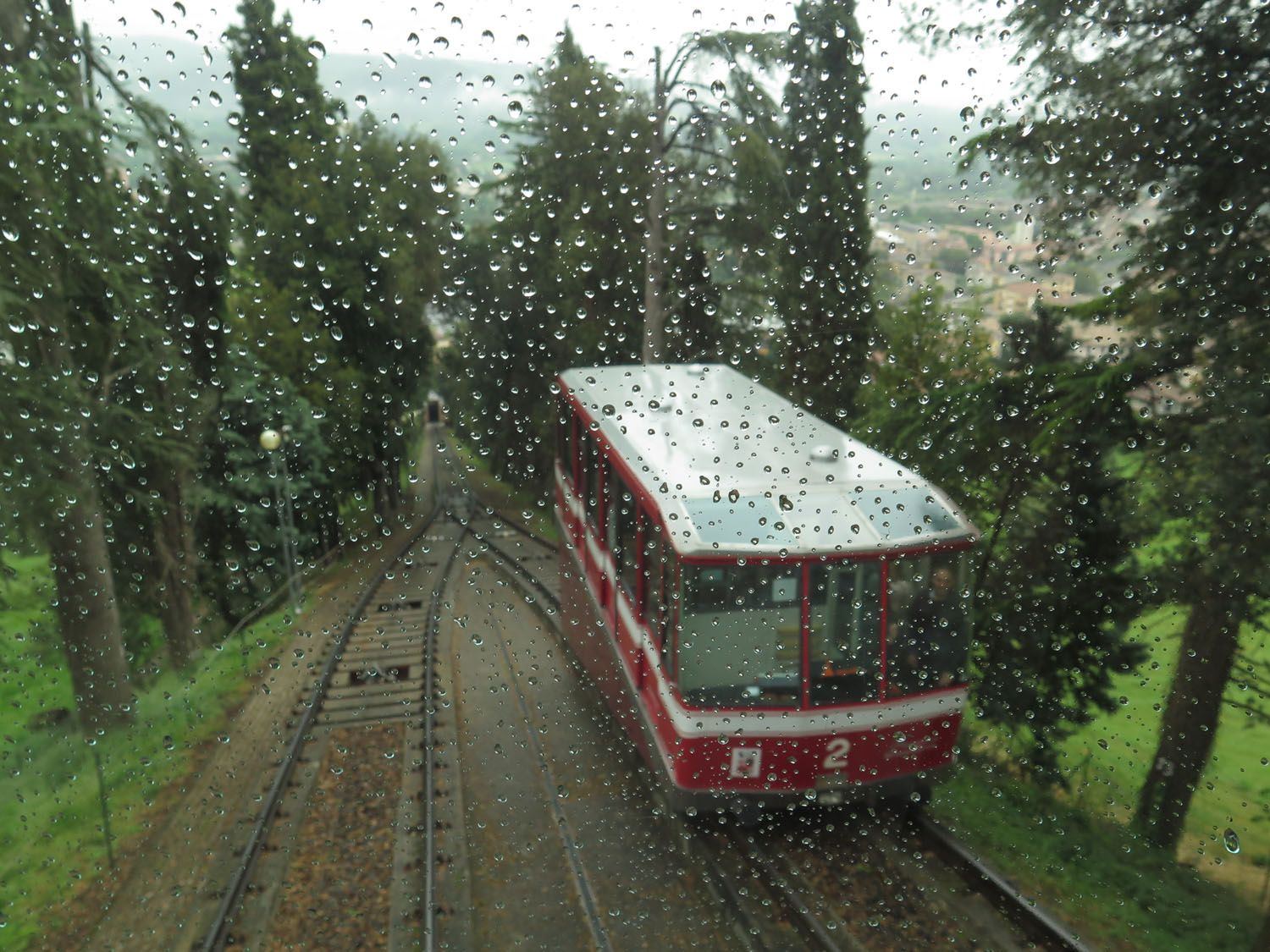 Italy-Orvieto-Funicular-Going-Down