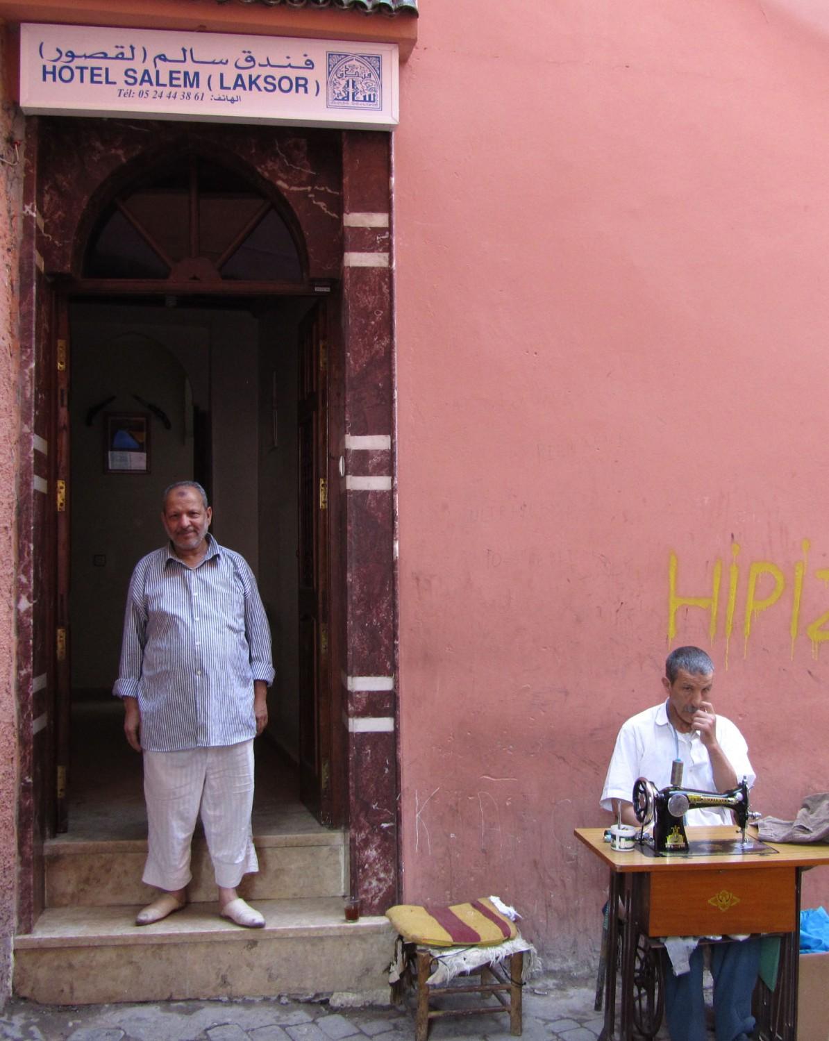 Morocco-Marrakech-Hotel