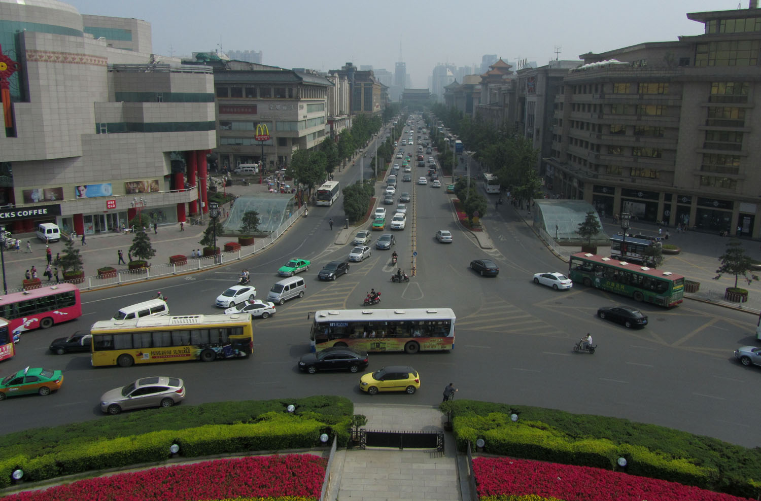 China-Xian-City-Center