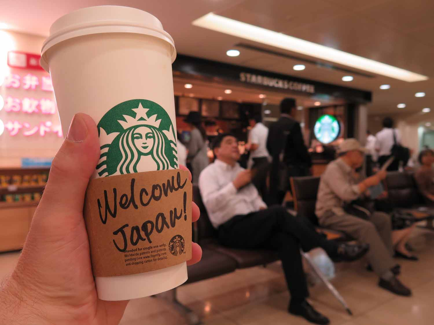 Japan-Tokyo-Food-And-Drink-Starbucks-Welcome