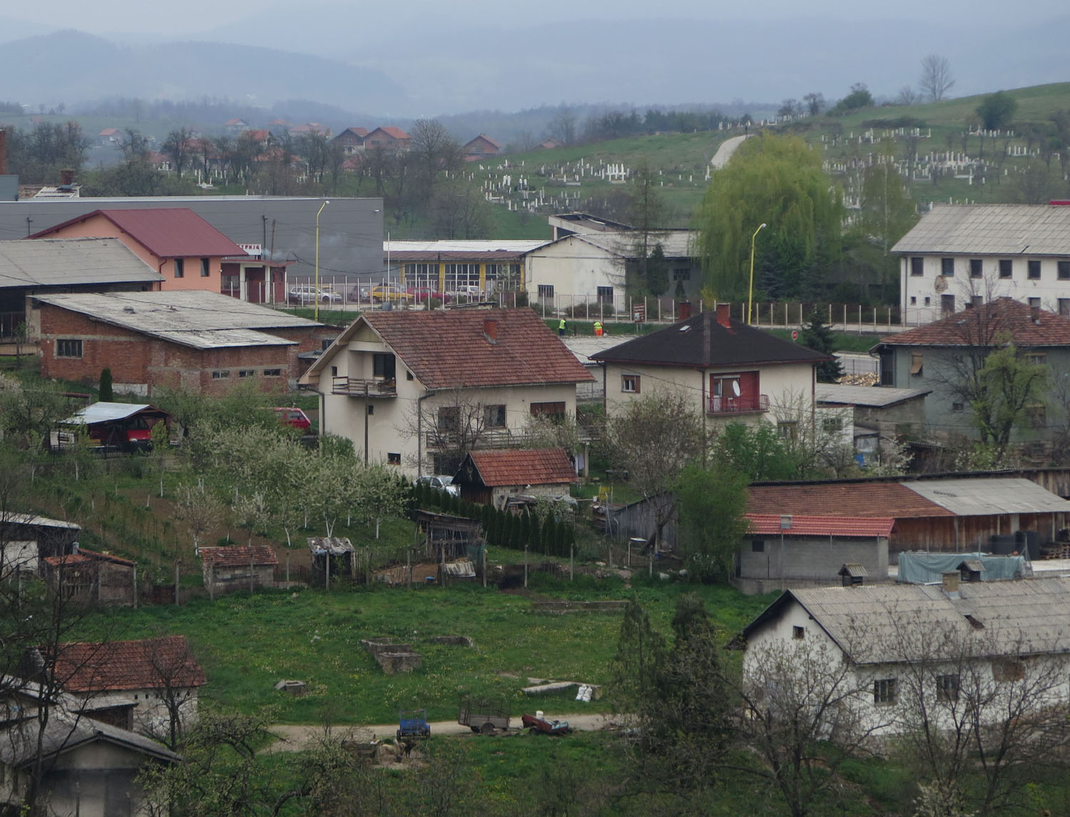 Bosnia-Srebernica-Village