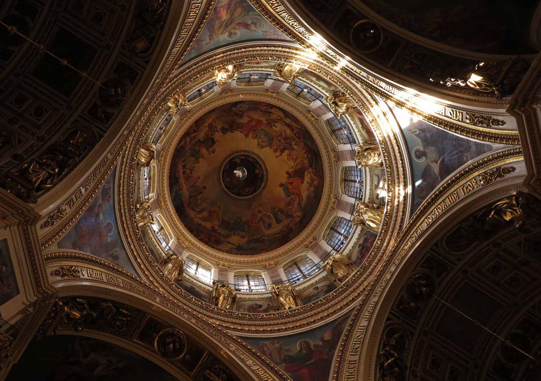 ussia-Saint-Petersburg-Saint-Isaacs-Dome