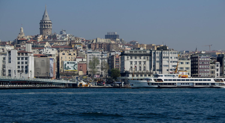 Turkey-Bosphorus-Galata