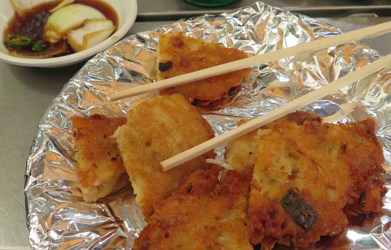 Korea-Seoul-Food-And-Drink-Pancakes-Mung-Beans