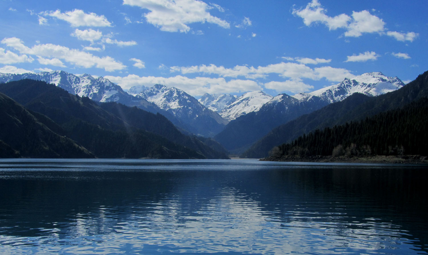 China-Urumqi-Heavenly-Lake