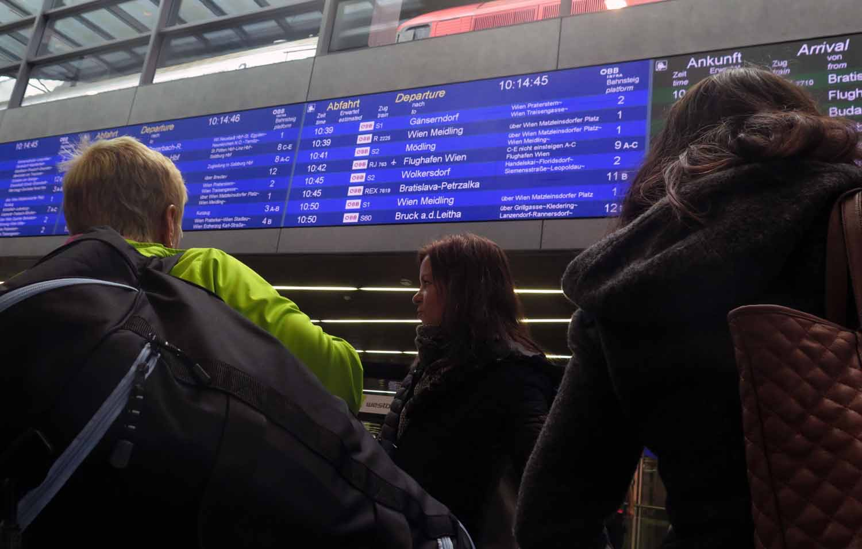 Austria-Vienna-Hauptbahnhof